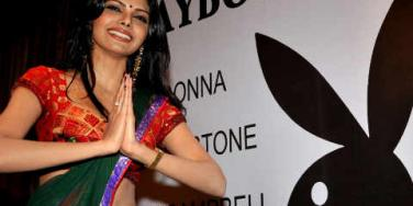 sherlyn chopra playboy