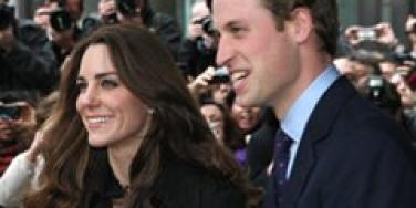 William and Kate in London.