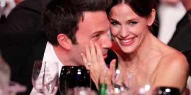 Jen and Ben being cute