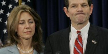 Eliot Spitzer's Wife Blames Herself For His Affair