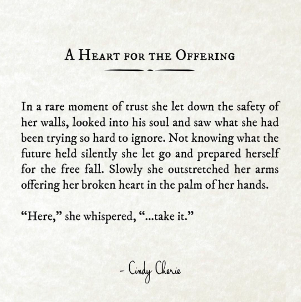 Instagram Quotes By Poet Cindy Cherie On Heartbreak