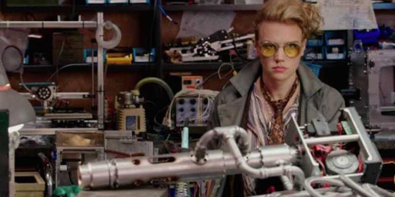 kate mckinnon holtzmann ghostbusters gay