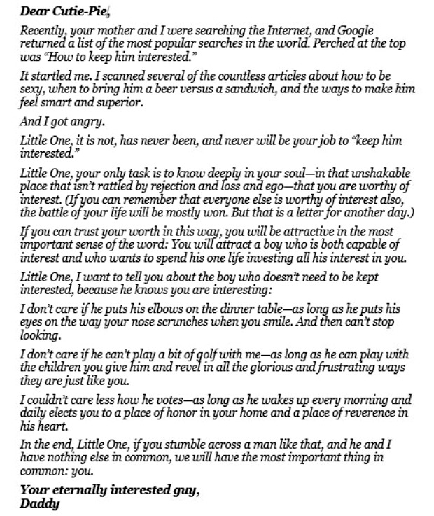 a letter to his parent by A letter to tackle different aspects of losing a parent.