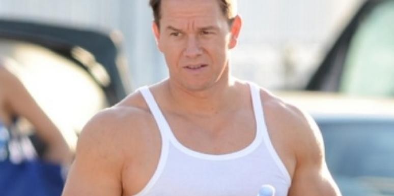 Mark Wahlberg muscles