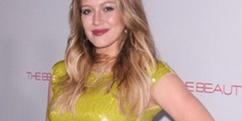 Pregnant Hilary Duff Likes Wearing Skin-Tight Clothing