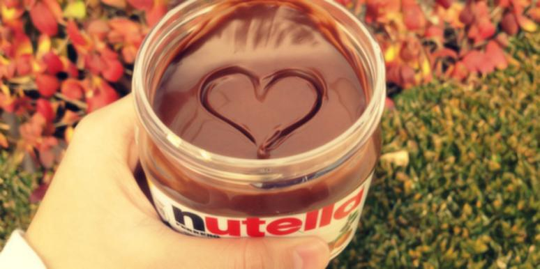 nutella heart