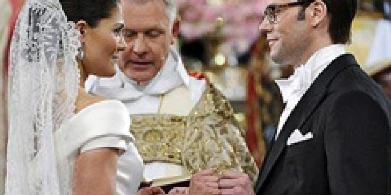 Princess Victoria of Sweden and Daniel Westling wedding