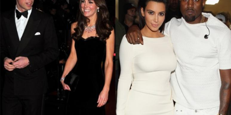 The Royal Baby Vs. The Kimye Baby