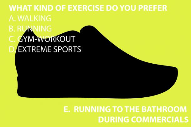 WHAT KIND OF WORKOUTS DO YOU PREFER?