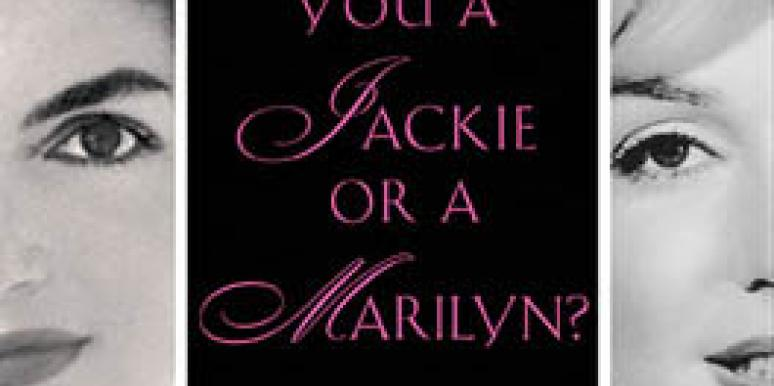 jackie or marilyn pamela keogh book cover