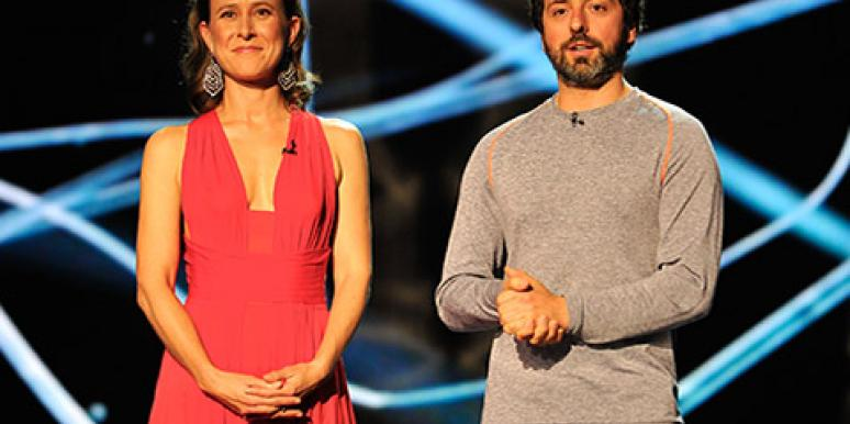 Google's Sergey Brin and Anne Wojcicki