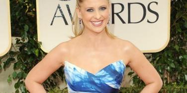 Sarah Michelle Gellar at Golden Globes