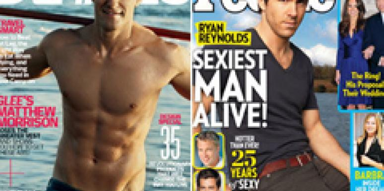 Matthew Morrison Details Magazine Ryan Reynolds People