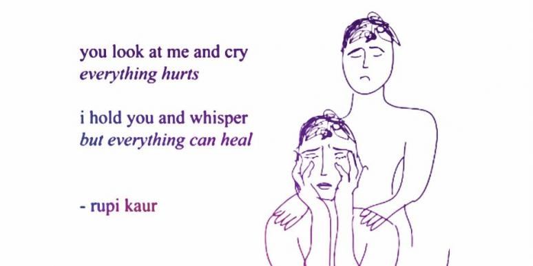 Rupi Kaur Poet Instagram Quotes Breakup Grief