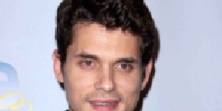 John Mayer begs for kisses at LA nightclub