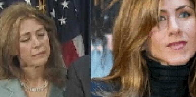Are Silda Spitzer & Jen Aniston Twins?