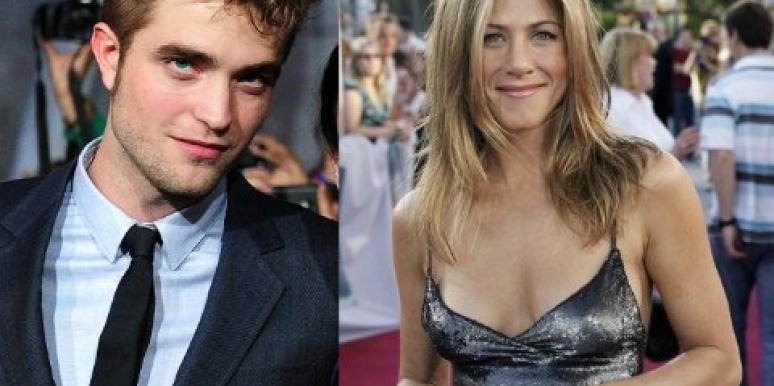 Why Jennifer Aniston Should Totally Hook Up With Robert Pattinson