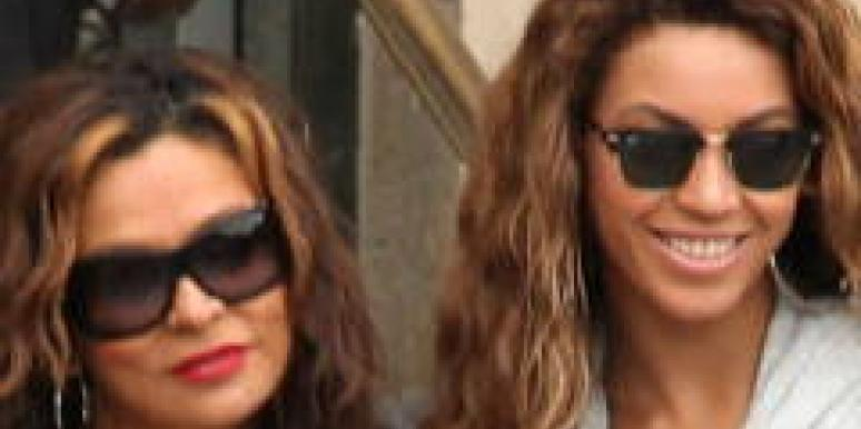 Tina Mathew Knowles divorce