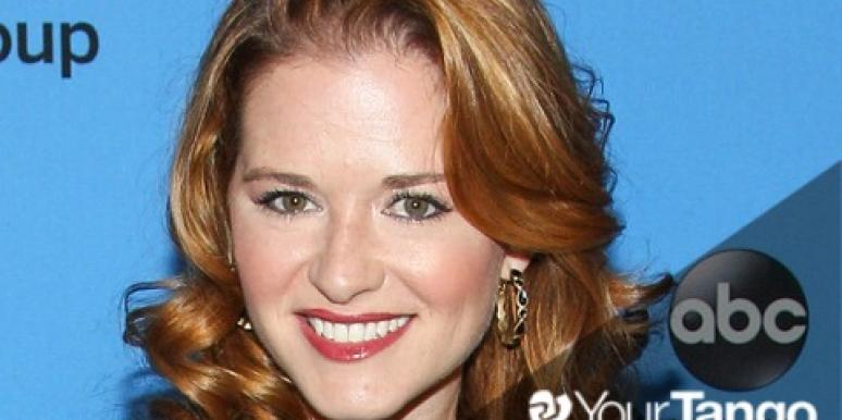 'Grey's Anatomy's Sarah Drew Talks Husband's Love Letters