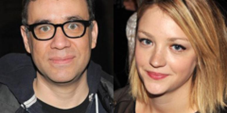 Fred Armisen Abby Elliott