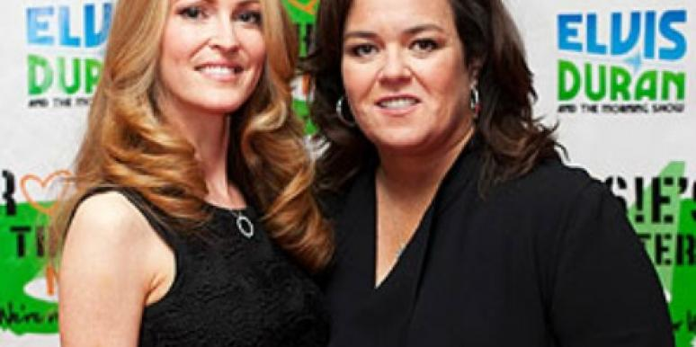 Rosie O'Donnell Engaged to Michelle Rounds!