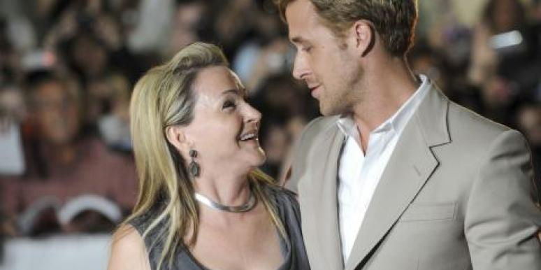 Ryan Gosling and his mom