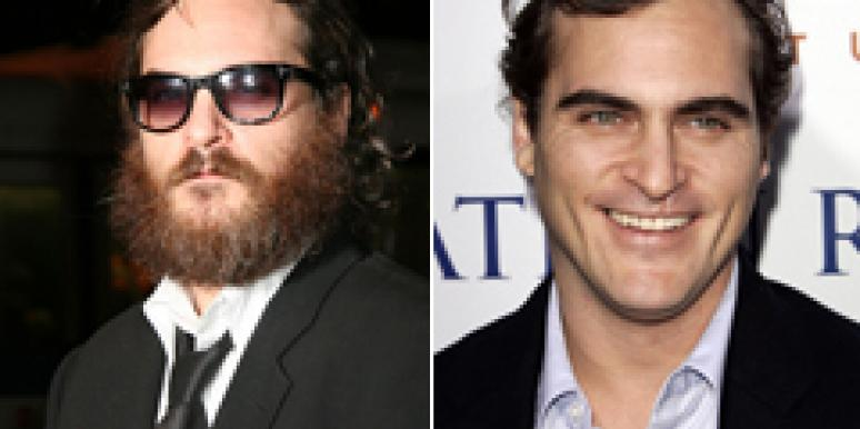 Joaquin Phoenix Shaves Beard, Sexiness Returns