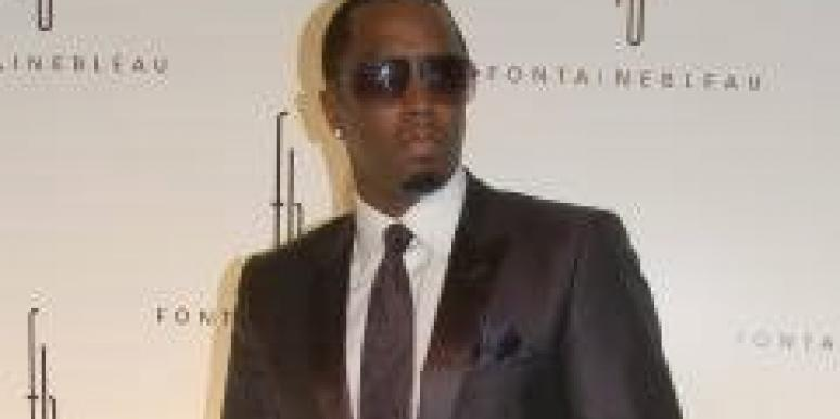 Diddy Says Wax Your Junk, Guys