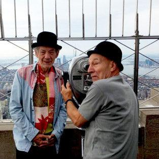 """<a href=""""http://weknowmemes.com/2013/10/ian-mckellen-and-patrick-stewart-have-the-best-bromance-ever/"""" target=""""_blank"""">weknowmemes.com</a>"""