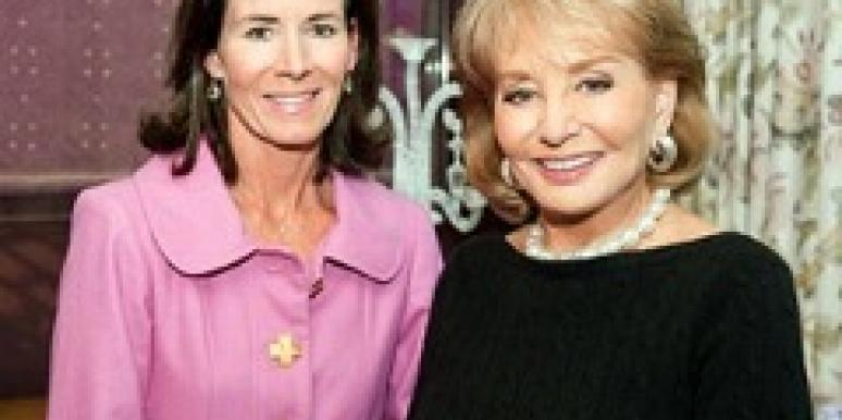 Jenny Sanford and Barbara Walters