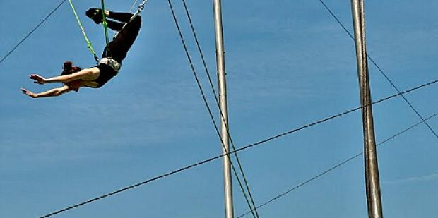 relationships, intimacy, trust issues, trapeze