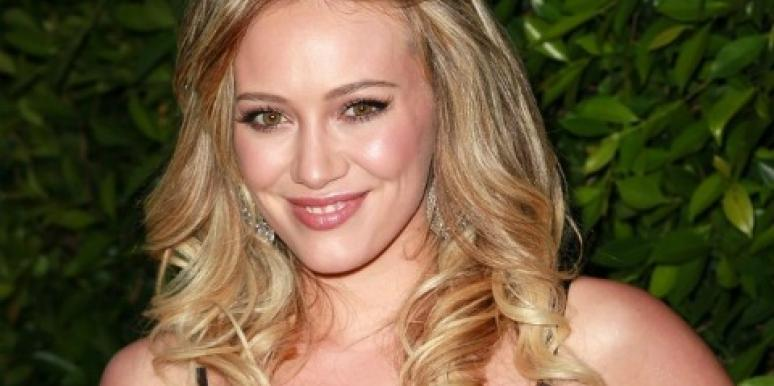 Hilary Duff's Christmas-Decorated Baby Bump: Tacky Or Cute?