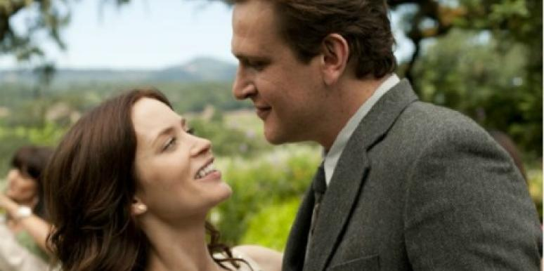 Jason Segel Emily Blunt in The Five-Year Engagement