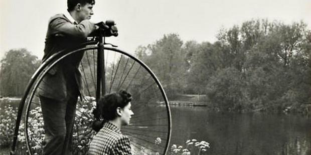 Black and White Vintage Couple
