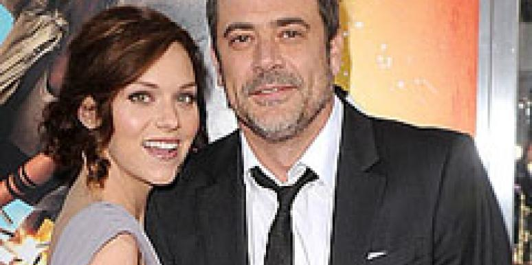 Hilarie Burton and Jeffrey Dean Morgan
