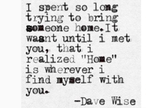 Dave Wise Poems About Love and Breakup Instagram Quotes