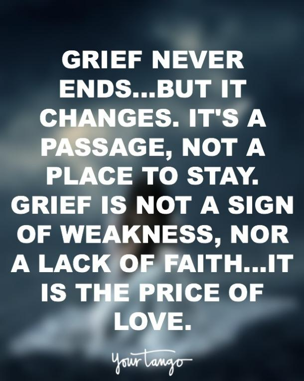 Depression Grief Quotes