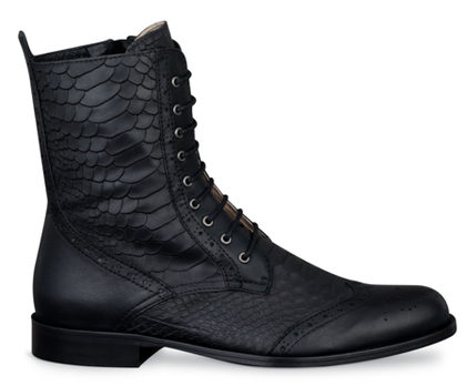 """<a href=""""http://www.duoboots.com/us/ankle-boots/black-leather-%26-snake-embossed-leather/gable/d/"""">duoboots.com</a>"""