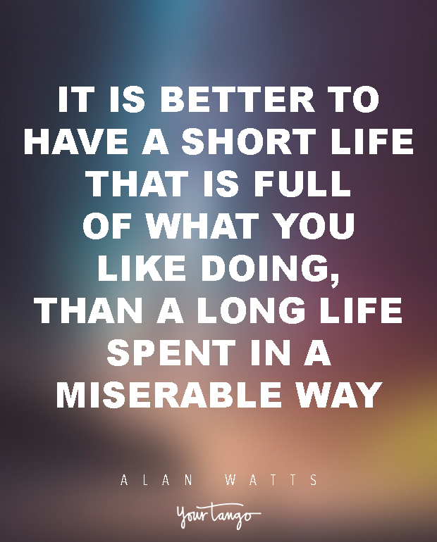 Alan Watts Quotes About Life