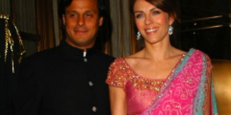 arun nayer and elizabeth hurley
