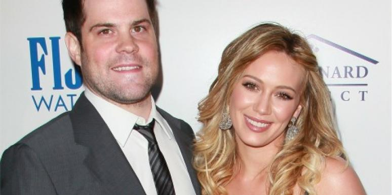 Mike Comrie Hilary Duff