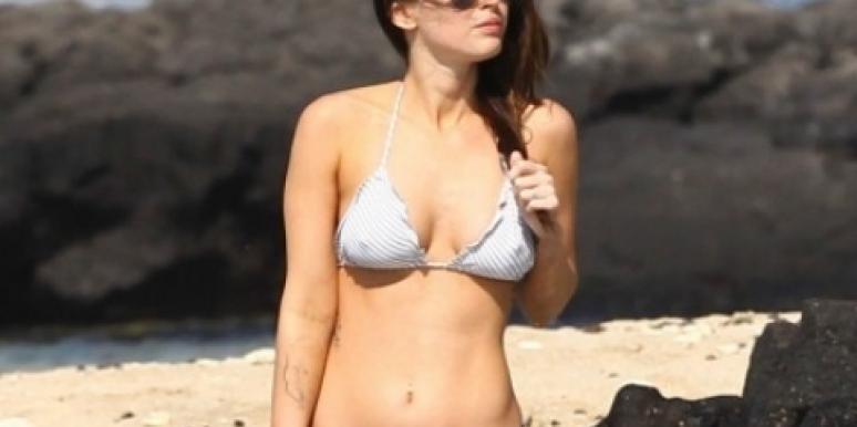 10 Sexy Celeb Beach Bodies: Spring Workout Motivation! [PHOTOS]