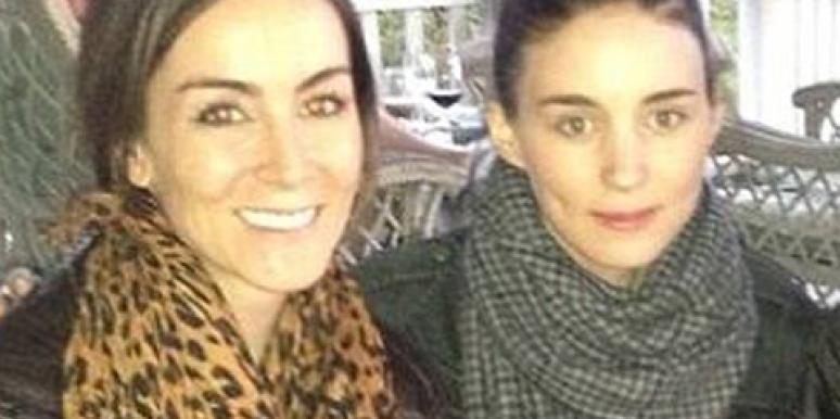 Amanda Lindhout and Rooney Mara