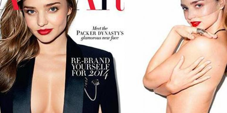 Miranda Kerr's birthday suit is a gift to the whole world!