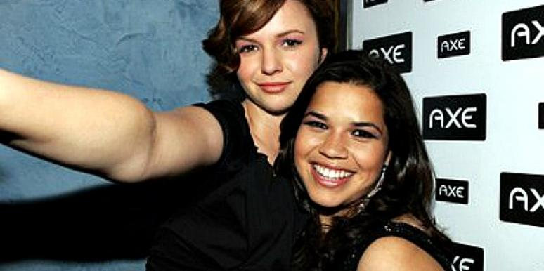 America Ferrera and Amber Tamblyn