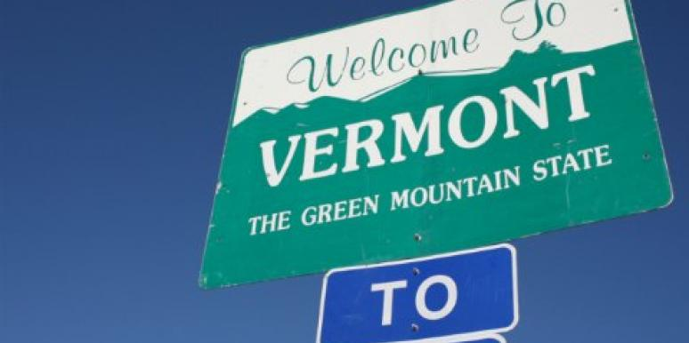 Vermont state sign
