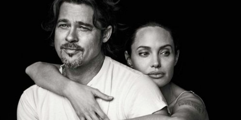 According To InTouch Brad And Angelina Are On The Rocks Figuratively