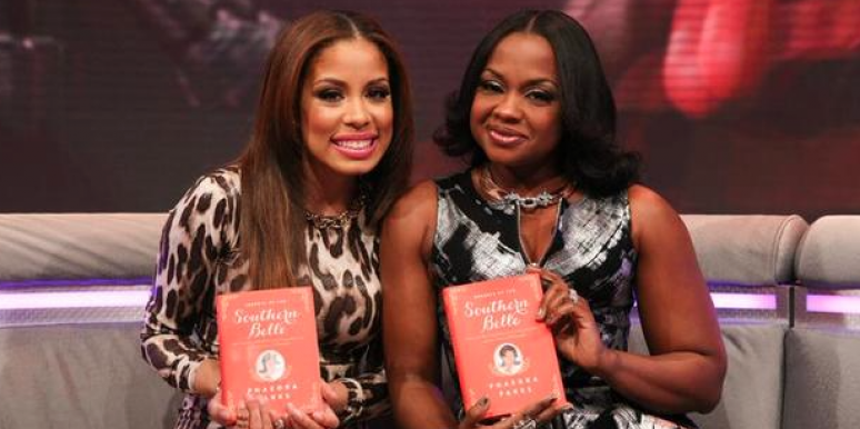 Chante and Phaedra Parks attend 106 & Park