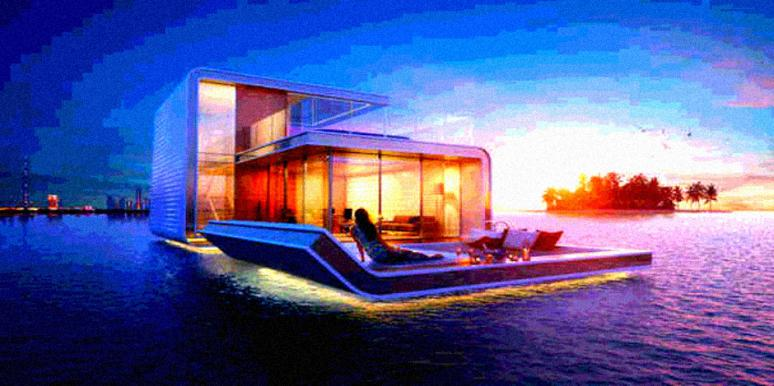 Floating Vacation Home In Dubai