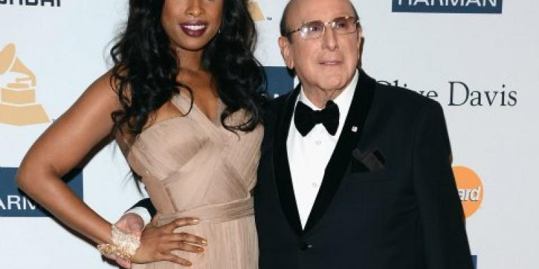 Music mogul Clive Davis, pictured here with Jennifer Hudson.